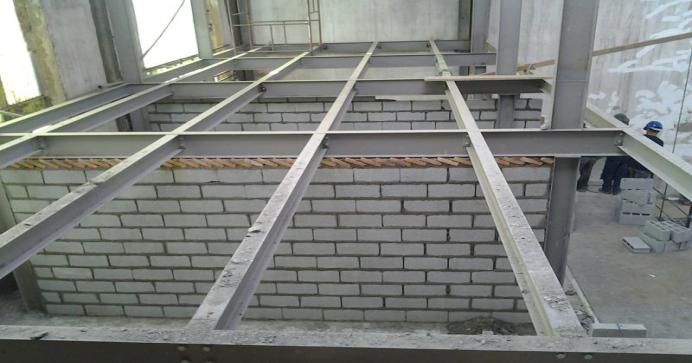 Construção de Mezanino