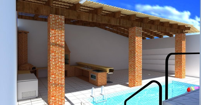 Projetos 3d de Telhados e Coberturas